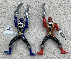 "(JP) Power Rangers Action Figure Lot of 2 2013 6"" Bandai"