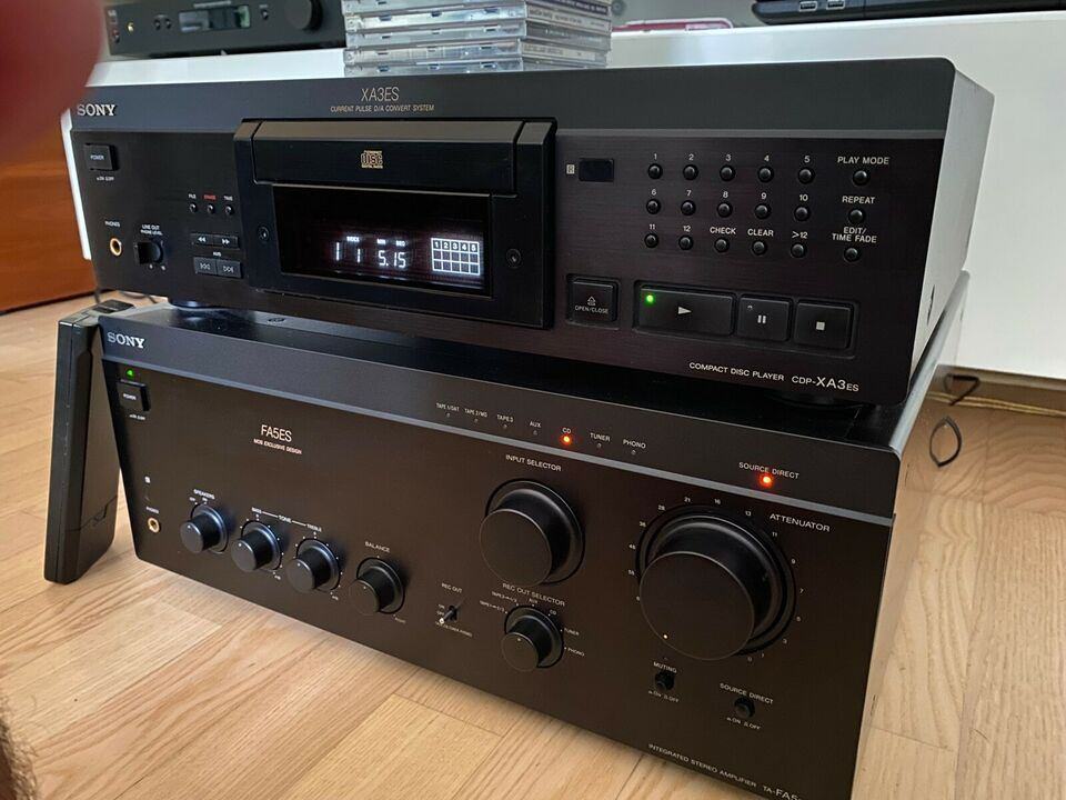 Integreret forstærker, Sony, TA-FA5ES