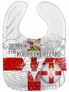 Dirty-Fingers-034-Dribbling-for-Northern-Ireland-034-Baby-Feeding-Bib-All-Over-Print