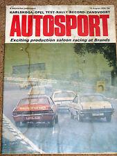 Autosport 15/8/74* ZANDVOORT ETC - KARLSGOGA F2 - KADETT COUPE TEST - JOHN LEPP