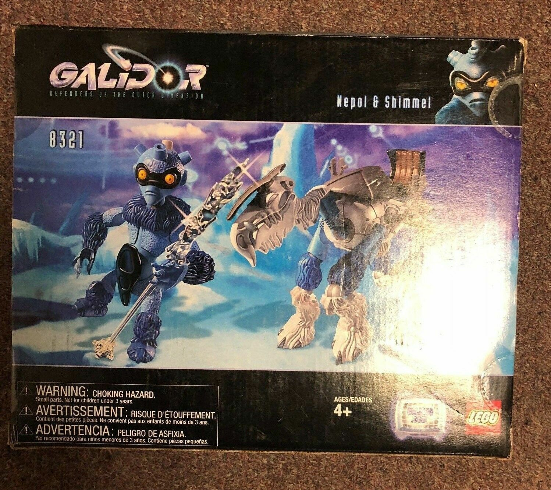 New Lego Lego Lego Nepol Shimmel Galidor Set 9d0e53