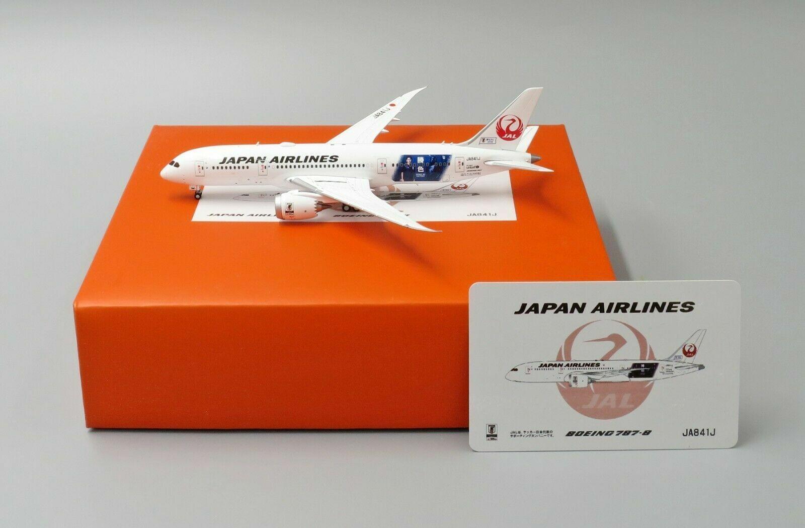 JC Wings 1 400 JAL Japan Airlines Boeing B787-8 'Spirit of Victory' JA841J
