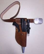Star Wars Leather Brown DH-17 BELT and HOLSTER Rebel FleetTrooper costume