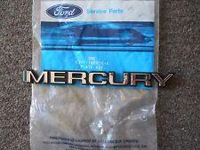 NOS 1986 87 MERCURY LYNX HOOD EMBLEM