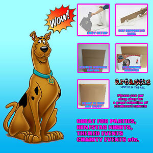 Scooby-Doo-Lifesize-carton-recorte-levantado-Ideal-Para-Ninos-Fiestas