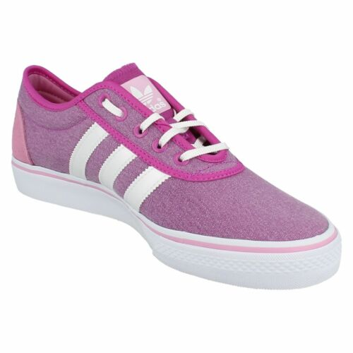 Ladies G65548 Adiease W pink textile lace up trainer by Adidas £29.99