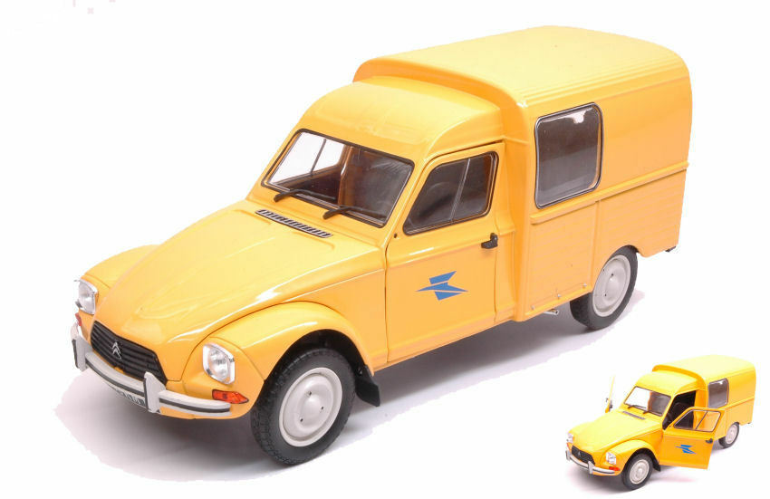 Citroen Acadiane 1984 La Poste 1 18 Model SOLIDO