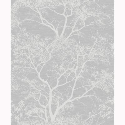 Whispering Trees Glitter Wallpaper Grey Silver Holden 65401 Sparkle 5022976654013 Ebay