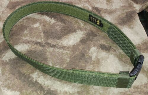 "Olive Drab LBT XL Heavy Duty 2/"" Nylon Duty Belt w// Triple Retention Buckle"
