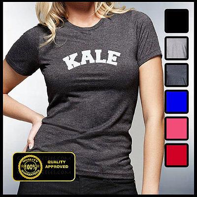 Fashion Kale Shirt Vegetarian Kale Tshirt Music Funny Vegan T-shirt