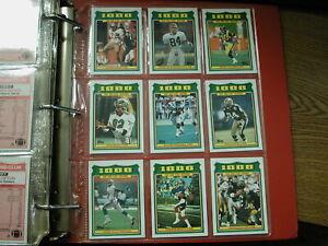 1987-Topps-Complete-Football-in-binder-1000-yard-Club-EX-MT