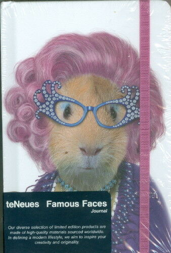 ~ Hamster teNeues ~ Hard Cover Journal ~ Famous Faces ~ Dame Edna Everson