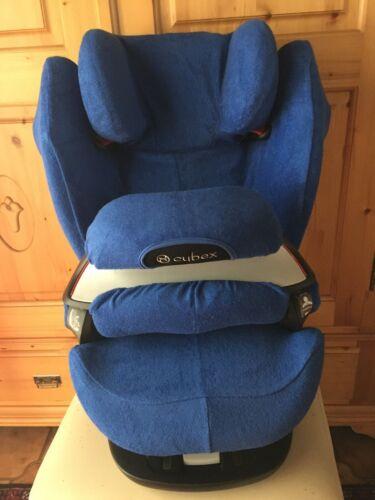 M und S-Fix NEU blau Sommerbezug Schonbezug Frottee für Cybex Pallas M und S