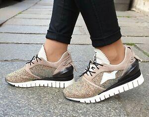 A-S-98-Schuh-A13102-Combi-Multicolor-Damen-Echtleder-Sneaker-Wechselfussbett