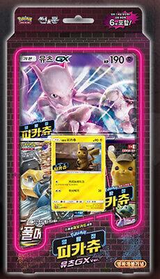 "Pokemon Card /""Detective Pikachu Mewtwo GX/"" MINT Korean ver"
