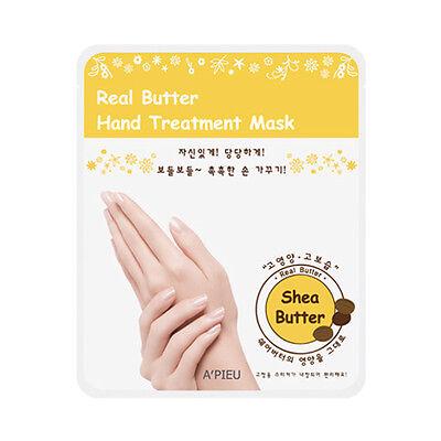 [A'PIEU] Real Butter Hand Treatment Mask - 1Pack (2pcs)