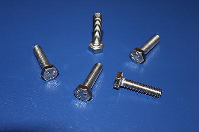 Sechskantschrauben Vollgewinde 5, M8x45 mm DIN 933 A2 Edelstahl 5 St/ück Sechskant Schrauben M8x45 mm V2A