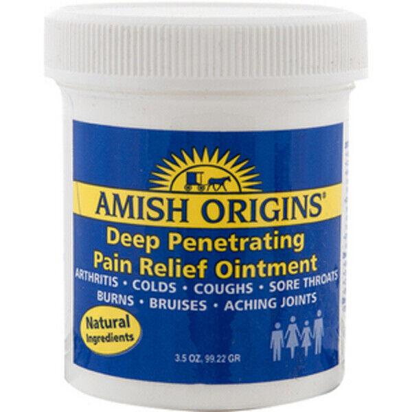 Amish Origins Pénétration Profonde Soulagement Douleurs Pommade Naturel - 104ml