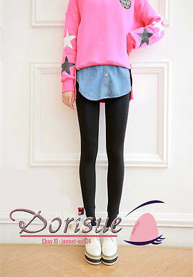 B05 Autumn Winter Solid Opaque Pantyhose Stockings Tights Thick Warm slim socks