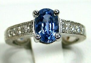 Blue-Sapphire-Ring-18K-white-gold-Antique-Style-VS-GIA-Certified-Heirloom-5-797