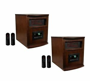 LifeSmart-LifePro-6-Element-1500W-Portable-Infrared-Quartz-Space-Heaters-Pair
