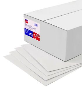 CHEAP 250 High Quality Plain White C4 SelfSeal Envelopes 90gsm - Bexhill-on-Sea, United Kingdom - CHEAP 250 High Quality Plain White C4 SelfSeal Envelopes 90gsm - Bexhill-on-Sea, United Kingdom