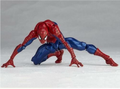 """Amazing Spider-Man Revoltech Series No.002 6/"""" PVC Action Figure Toy Gift"""