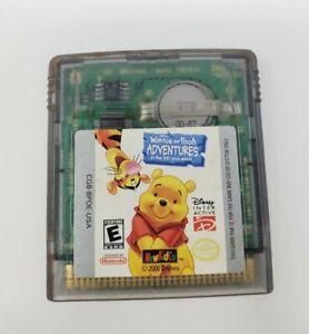 Disney's Winnie the Pooh Adventures in the 100 Acre Wood (Game Boy Color) GBC