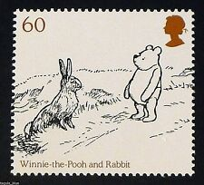 Winnie the Pooh and Rabbit on 2010 Stamp - Unmounted Mint