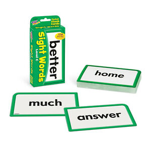 Trend Kids Childrens Sight Words Pocket Flash Cards (Level C) Home Learning