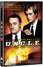 DVD:RETURN OF THE MAN FROM UNCLE - NEW Region 2 UK