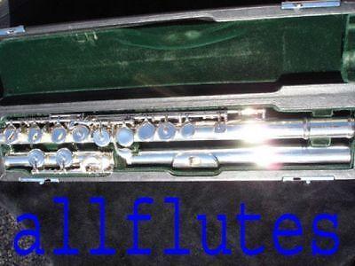 Symbol Der Marke Mateki Mo-051 -e mo-052 Vollsilber Silver Querflöte Flute Flauta Flauto Angenehm Bis Zum Gaumen