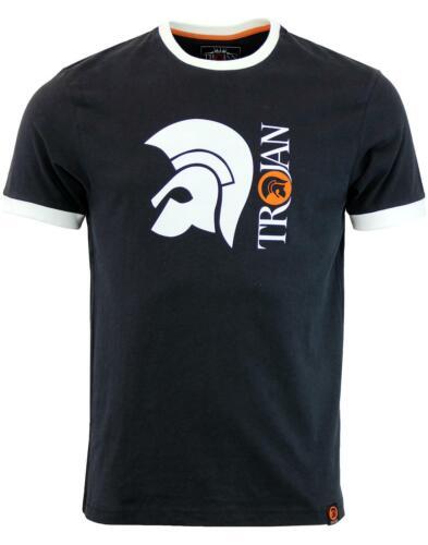 Trojan Records Black Helmet Logo T Shirt TC//1014