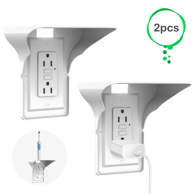 AANUR Outlet Shelf Wall Shelf Holder Charging Socket Power Perch Organizer