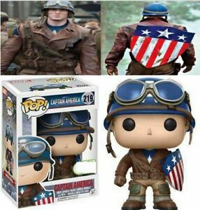 FUNKO-POP-Marvel-Avengers-Endgame-Captian-America-219-Vinyl-Action-Figure-Toy