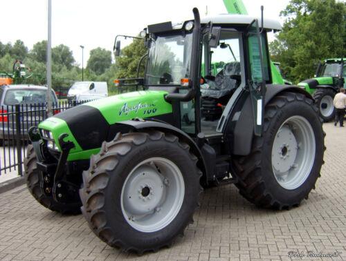 Parts Manual and Workshop Manual Deutz Fahr Agrofarm Tractor Operator Manual
