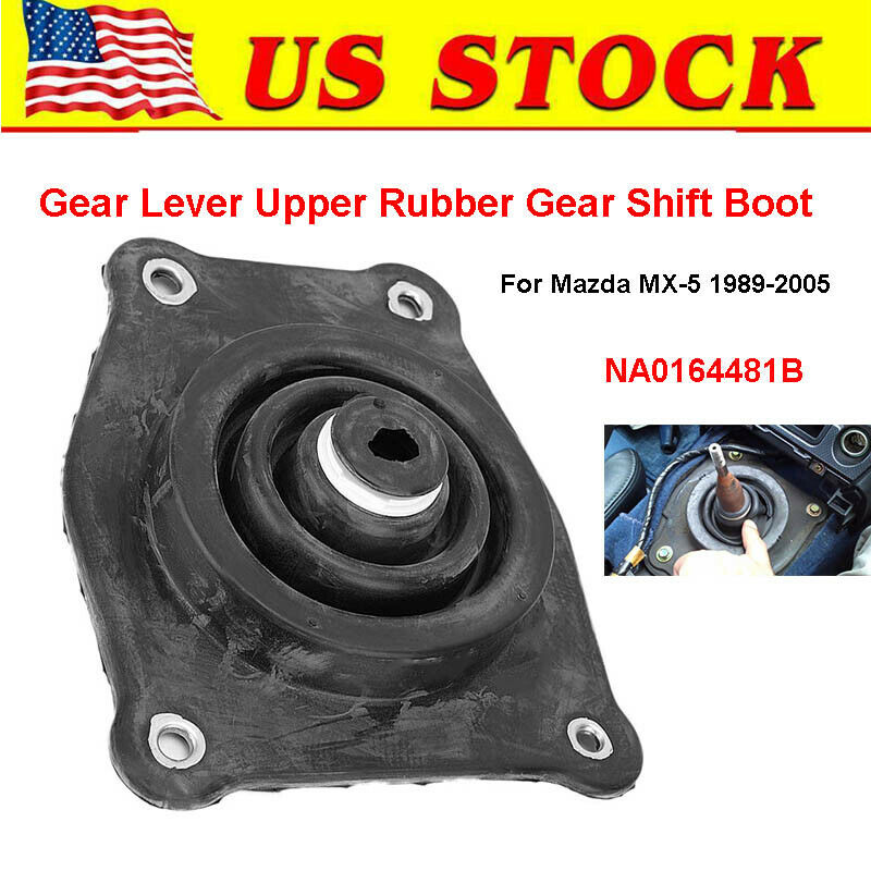 Gear lever rubber shift boot MX5 upper gearshift gaiter Mazda MX-5 89-05 new