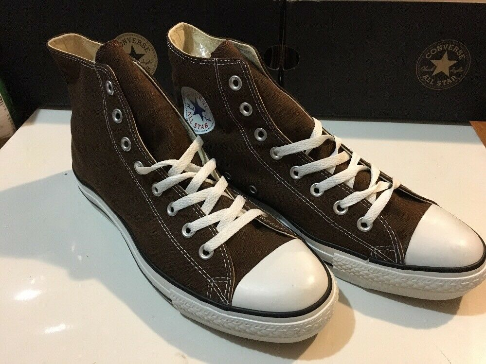 Converse CT AS SP Hi Top Chocolate Brown Men's shoes Size 3,Women 5