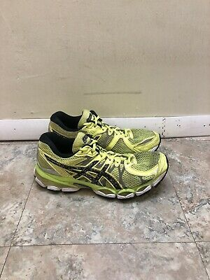 Vintage Womens Asics Gel Nimbus 16 Running Shoes Sz 9.5 B Used T4B9N Hi Viz   eBay