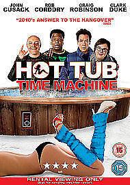 1 of 1 - Hot Tub Time Machine [DVD], DVD | 5039036044905 | New