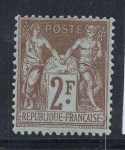 France-1900-Yv-105-Neuf-100-2-fr-sauge