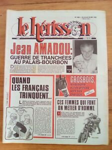 LE-HERISSON-n-1883-1981-Palais-Bourbon-Grosbois-femmes-metiers-d-039-homme