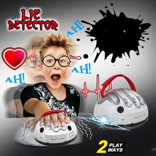 New Polygraph Shocking Liar Electric Shock Lie Detector Testing Truth Game Toy