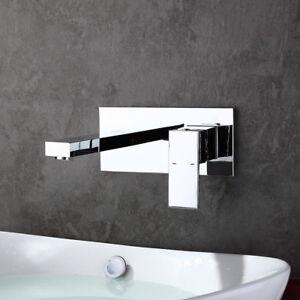 Unterputz Wandmontage Wasserhahn Bad Armatur Waschtischarmatur