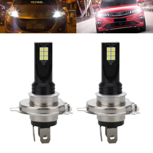 H4 LED Headlight Kit 9003 HB2 100W Fog Light Bulbs High Low Beam CREE DRL Lamp
