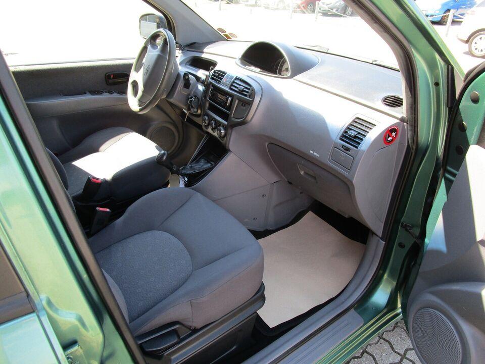 Hyundai Matrix 1,6 Benzin modelår 2007 km 120000 Grønmetal