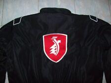 NEU ZÜNDAPP rotes Logo Faan-Jacke schwarz veste jacket jas giacca jakka chaquet