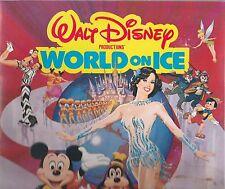 Walt Disney 1982 World On Ice World Premiere Program-Linda Fratianne