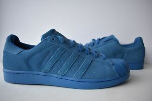 a879bf43eb0aa8 Image is loading Adidas-Originals-Superstar-RT-Suede-Sneakers-Shoes-Blue-