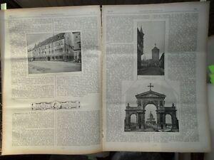 100% De Qualité 1898 Altona Kaiser Wilhelm Monument-afficher Le Titre D'origine